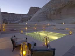 romantic swimming pool design at amangiri resort and spa in canyon