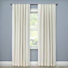 Grey Metallic Curtains Solid Metallic Window Curtain Panel Threshold Target