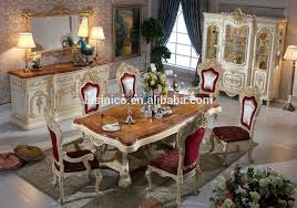 wooden top italian design dining room furniture luxury wooden top