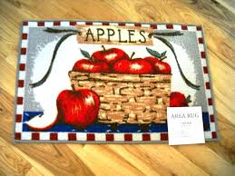 Fruit Kitchen Rugs Large Size Of Kitchen Rugs For Good Fruit Pattern X Apple Design