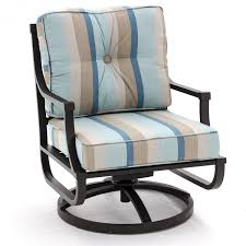 Outdoor Rocking Chair Cushion Sets Sunbrella Gateway Mist Medium Outdoor Replacement Club Chair