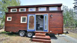 classy chic modern unique double shed roof line tiny house on