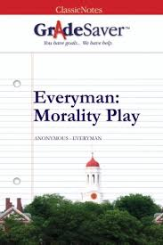 everyman morality play summary gradesaver