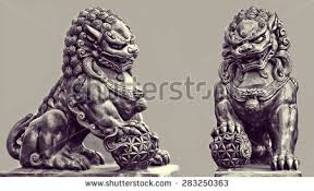 foo lion statue foo dog stock images royalty free images vectors