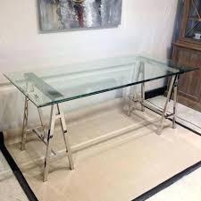 etched glass desk name plates glass desk stainless steel glass desk table etched glass desk name