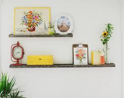 Reclaimed Wood Floating Shelves by Wood Floating Shelf Etsy