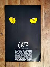 cats the musical poster winter garden theater poster cats