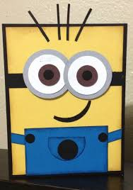 Self Made Greeting Cards Design Best 25 Minion Birthday Card Ideas On Pinterest Owl Punch Cards