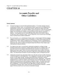 chapter 14 solution manual accounts payable audit