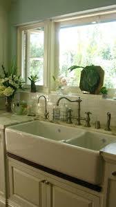 porcelain apron sink vintage kitchen faucets retro faucet on