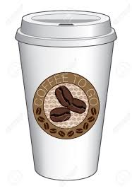 coffee to go cup design with beans is an illustration of a coffee
