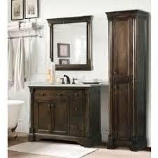 Bathroom Vanity With Linen Tower Bathroom Vanity With Linen Tower Home Design Ideas Three Bathroom