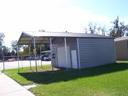 Garage With Carport Steel Buildings Gainesville Fl Portable Carports U0026 Aluminum Garages