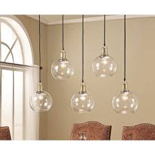 Edison Pendant Light Fixture Abbyson Living Edison Glass 5 Light Pendant Light Edison
