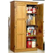 kitchen storage cabinets with glass doors storage pantry cabinet shaker style double door recessed in wall