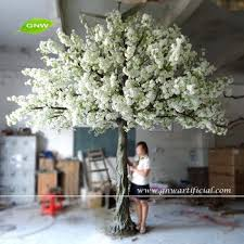 gnw bls025 artificial twig tree white cherry blossom