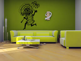 wall decals stickers home decor home furniture diy wall vinyl sticker room decals mural design africa tribal people palm bo1230