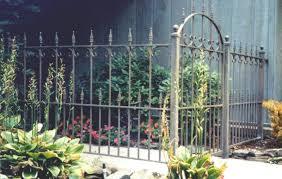 wrought iron fence modern peiranos fences wrought iron fence ideas