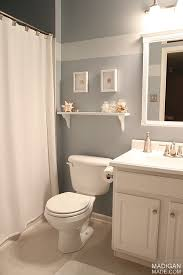Guest Bathroom Decor Beachy Guest Bath Decor Part Of The Summer Tour Of Homes With The