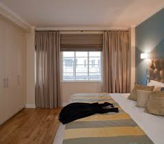 extraordinary roman blinds bedroom come with cream fabric bed and