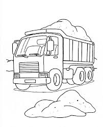 coloring page alluring trucks to colour in fire truck coloring