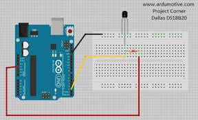 how to use ds18b20 temperature sensor arduino tutorial 5 steps