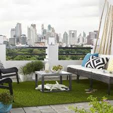 Best Outdoor Rug For Deck The Artificial Grass Is Always Greener On A Deck Grasses