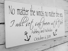 wedding quotes nautical wedding signs wedding decor nautical gift sailing boat