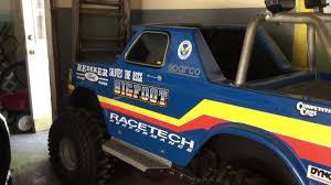 bigfoot meteor and the mighty monster trucks bigfoot monster truck go kart youtube