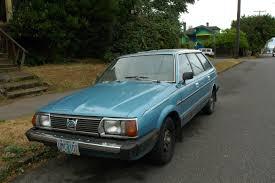 subaru wagon 2011 old parked cars 1981 subaru gl 5 wagon