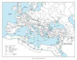 Byzantine Empire Map Freely Available Maps 10 The Empire In 400 Ad