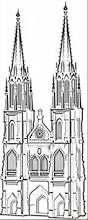 famous cathedral in koln coloring page free germany coloring