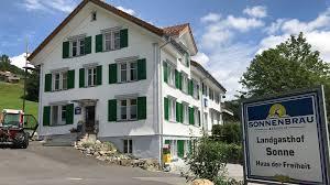 Haus Landgasthof Sonne Haus Der Freiheit Wintersberg Bei Ebnat