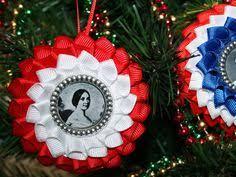 2 patriotic ornaments of the civil war civil wars
