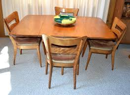 Maple Dining Room Table And Chairs Heywood Wakefield Dining Table And Chairs Dining Set Dining Room
