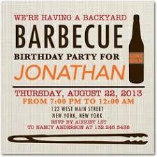 Backyard Birthday Party Invitations by Crazy Wonderful Birthday Party For A Guy Backyard Bbq 40th