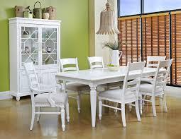 White Dining Room Set Homelegance Ohana  Piece Dining Room Set In - Ohana white round dining room set