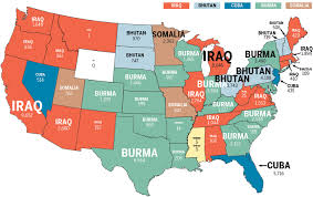 Portland On Map Of Usa by Seeking Freedom Five Facts About Refugees To Oregon And The