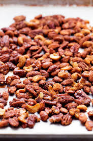 christmas nuts roasted cinnamon sugar candied nuts the recipe critic