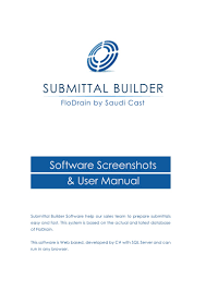 submittal user manual