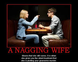 Nagging Girlfriend Meme - a nagging wife lolntroll