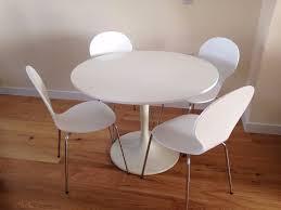 ikea docksta table u0026 argos bentwood chairs in richmond london