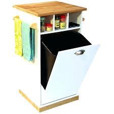 tilt out trash bin plans woodworking plans garbage can storage