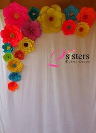flower backdrop paper flower backdrop david table linens co