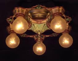 Art Deco Lighting Fixtures Art Nouveau Page 1 Vintage Lighting U0026 Fan Shoppe