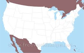 World Blank Map by Free Printable Maps Of The United States