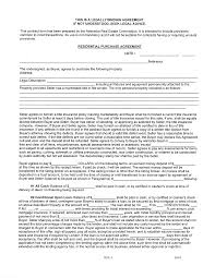 download nebraska residential purchase agreement form for free