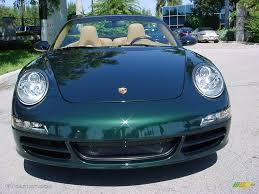 2006 forest green metallic porsche 911 carrera cabriolet 520605