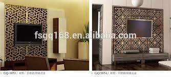 partition wall gq living room partition design view design
