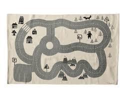 Kids City Rug by Http Www Nordicday Cz Dekorace Koberec Do Detskeho Pokoje Road